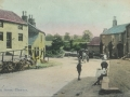 Main Street looking towards Westfield and ford.Old cottages on left now demolished - circa 1910 - cneta0n200t0