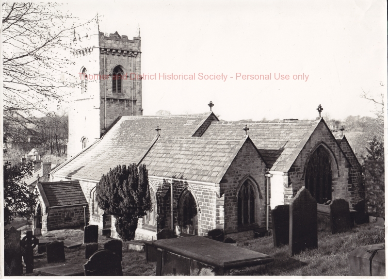 Rear View of St Peter's - 1980 - adlb_0190