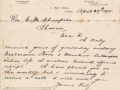 Letter from St John\'s Ambulance Brigade to Cyril Thompson  - 1915 -  to Cyril adlb_0258