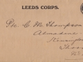 Envelope of Letter to Cyril Thompson from St John\'s Ambulance Association - 1915 - adlb_0259