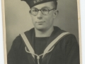 Keith Thompson of Orchard House in his navy uniform - circa 1940 - cneta0n200l4